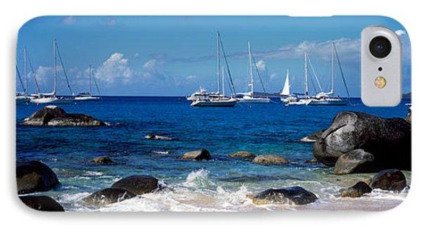 Sailboats In The Sea, The Baths, Virgin IPhone Case