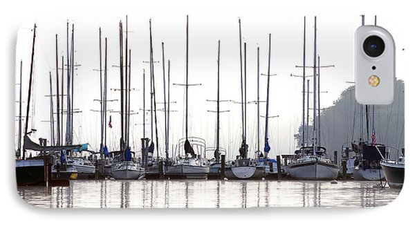 Sailboats Reflected IPhone Case