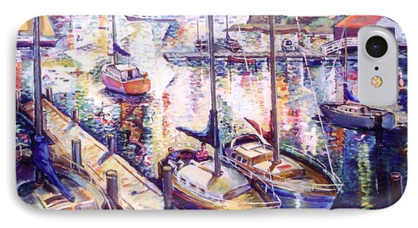 Sailboats IPhone Case by Stan Esson
