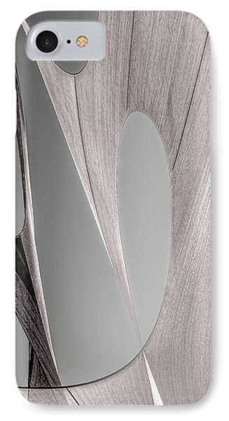 Sailcloth Abstract Number 2 Phone Case by Bob Orsillo