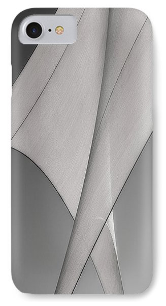 Sailcloth Abstract Number 3 IPhone Case