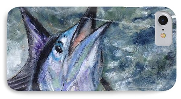 IPhone Case featuring the painting Sailfish by Stan Tenney