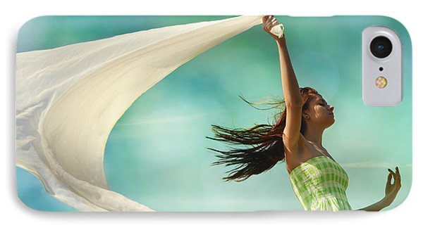 Sailing A Favorable Wind IPhone Case by Laura Fasulo