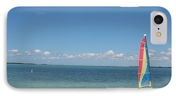 Sailing  At Key Largo IPhone Case by Christiane Schulze Art And Photography