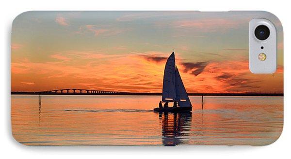 Sailing At Sunset IPhone Case by Kennerth and Birgitta Kullman