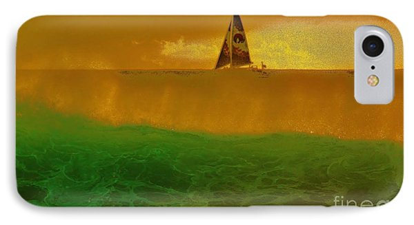 IPhone Case featuring the photograph Sailing Away by Craig Wood