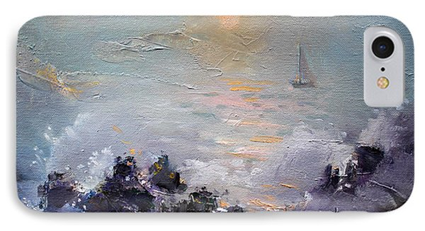 Sailing Back Home IPhone Case