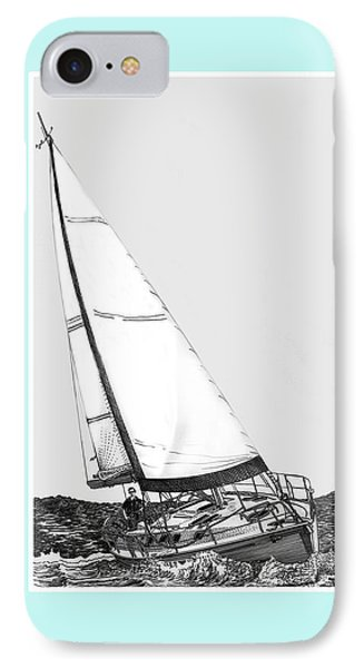 Sailing Blue IPhone Case