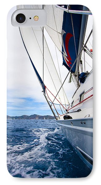 Sailing Bvi IPhone Case by Adam Romanowicz