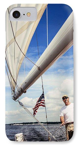 Sailing Captain Pride IPhone Case