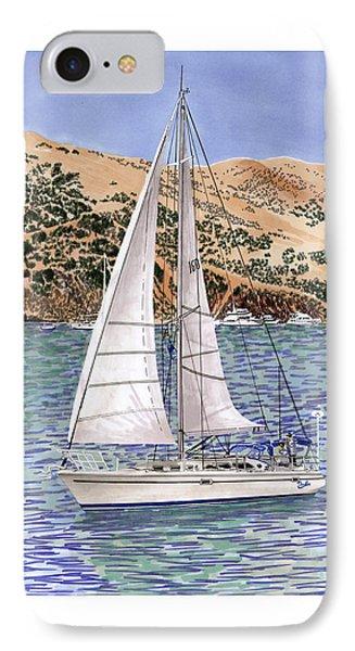 Sailing Catalina Island Sailing Sunday Phone Case by Jack Pumphrey