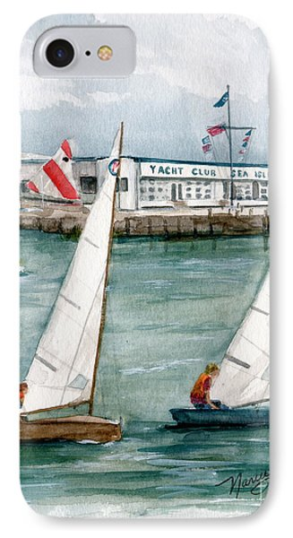 Sailing Class  IPhone Case by Nancy Patterson