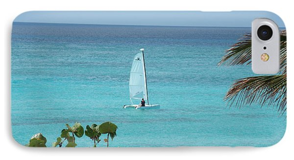 IPhone Case featuring the photograph Sailing by David S Reynolds