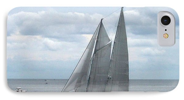 Sailing Day IPhone Case by Catherine Gagne