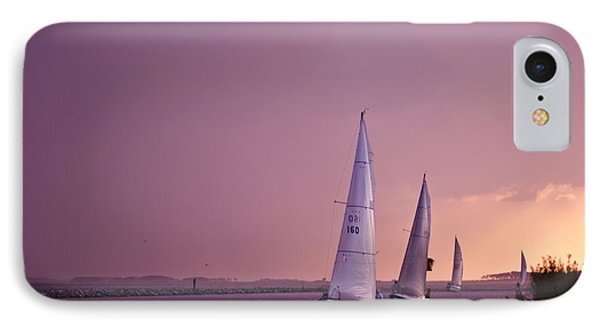 Sailing From The Sun IPhone Case by Kelly Reber