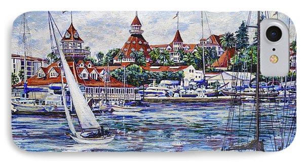 Sailing Glorietta Bay IPhone Case