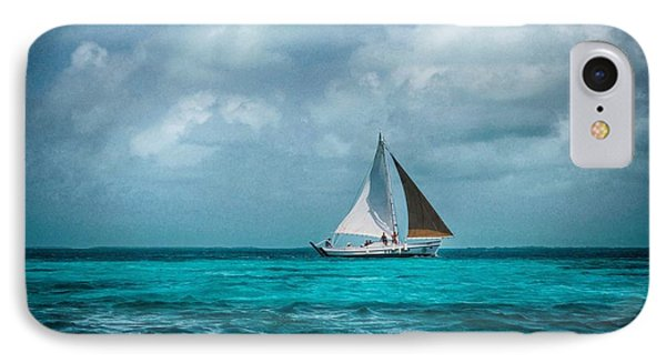 Sailing In Blue Belize IPhone Case