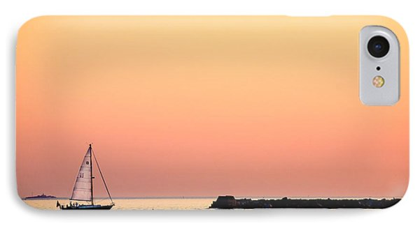 Sailing In Color IPhone Case by Gary Heller