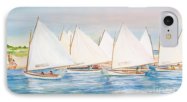 Sailing In The Summertime II IPhone Case by Michelle Wiarda