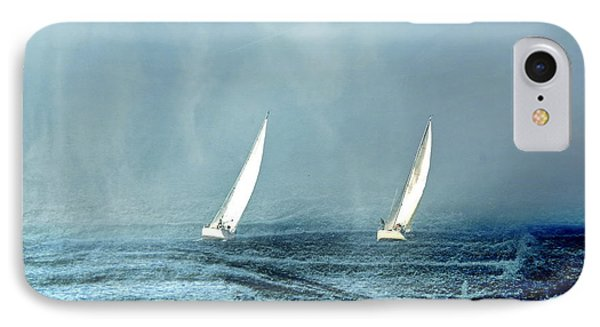 Sailing Into The Unknown IPhone Case by Andrea Kollo