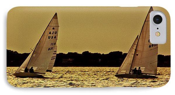 Sailing IPhone Case by Michael Nowotny