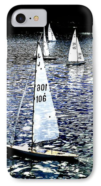 Sailing On Blue Phone Case by Steve Taylor
