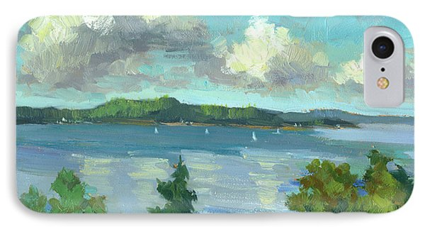 Sailing On Puget Sound IPhone Case by Diane McClary