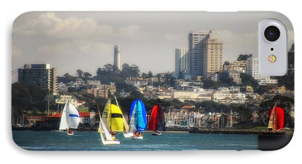 Sailing On The Bay IPhone Case