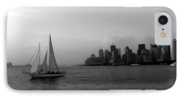 Sailing On The Hudson Phone Case by Avis  Noelle