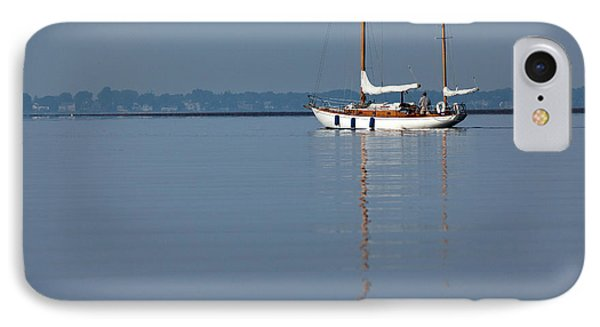 Sailing Reflections Phone Case by Karol Livote