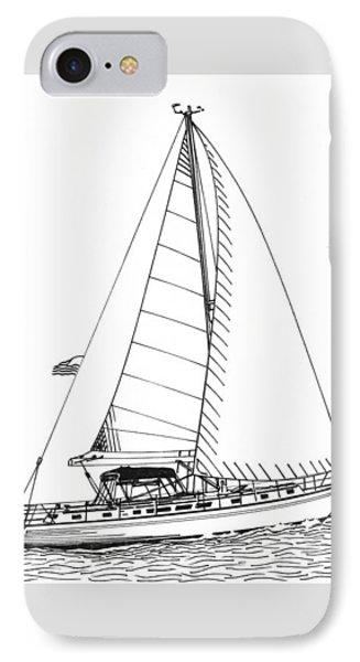 Sailing Sailing Sailing Phone Case by Jack Pumphrey