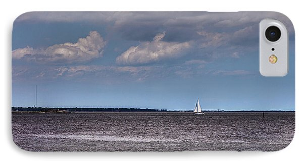 IPhone Case featuring the photograph Sailing by Sennie Pierson