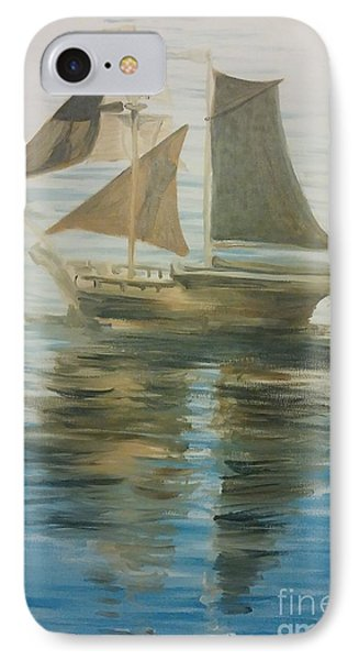 Sailing Ship IPhone Case by Isabella F Abbie Shores FRSA