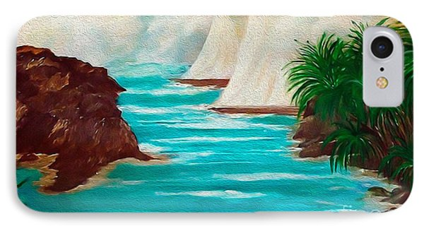 Sailing The Coast Of California IPhone Case by Sherri's Of Palm Springs
