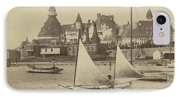 Sailing The Del IPhone Case