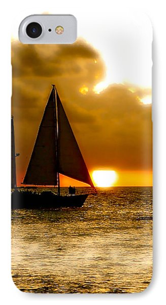 Sailing The Keys IPhone Case by Iconic Images Art Gallery David Pucciarelli