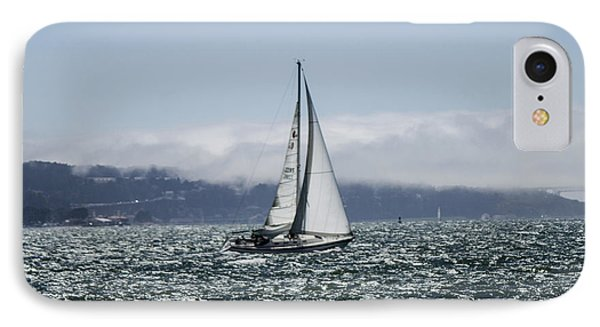 Sailing The Sf Bay Phone Case by Dee  Savage