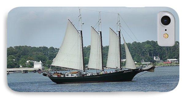 Sailing Through History IPhone Case