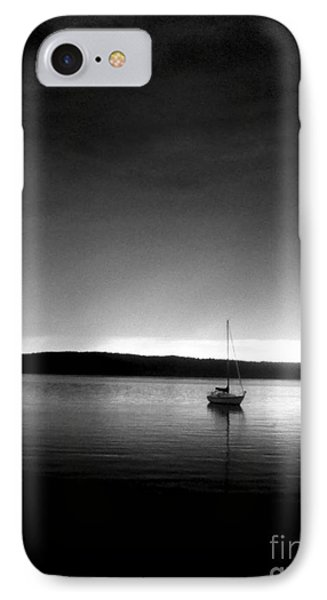Sailing Through The Light Phone Case by Allyson Andrewz