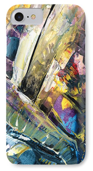 Sailing To Atlantis IPhone Case by Miki De Goodaboom