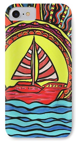 Sailing To The Sun Phone Case by Lorinda Fore