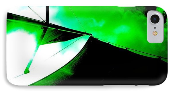 Sailing Under Alien Skies IPhone Case