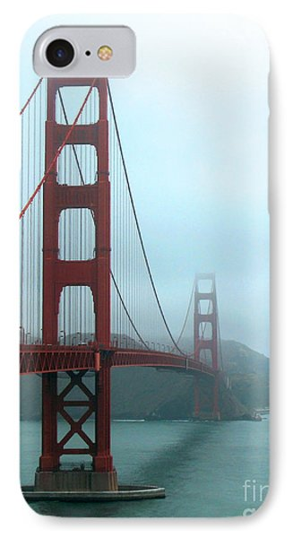 Sailing Under The Golden Gate Bridge IPhone Case by Connie Fox