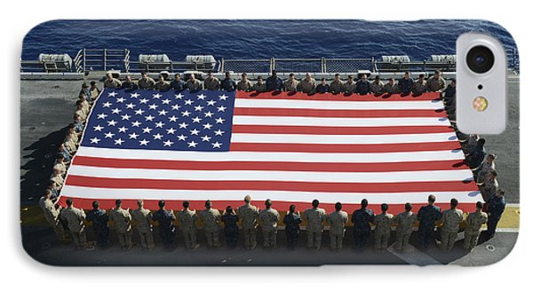 Sailors And Marines Display IPhone Case