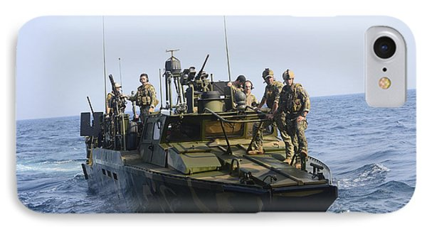 Sailors Conduct Patrol Operations Phone Case by Stocktrek Images