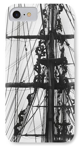 Sailors In The Rigging IPhone Case
