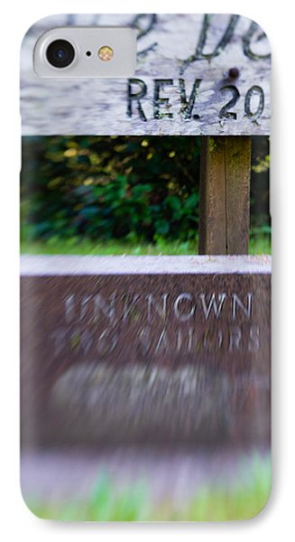 IPhone Case featuring the photograph Sailor's Memorial by Erin Kohlenberg