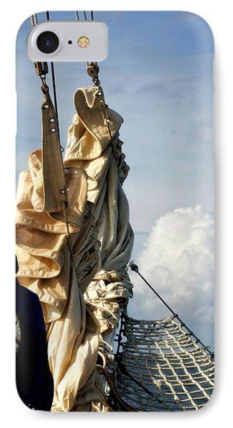 Sails IPhone Case by Joan Davis