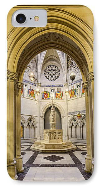 Saint John The Divine Baptistry IPhone Case by Susan Candelario