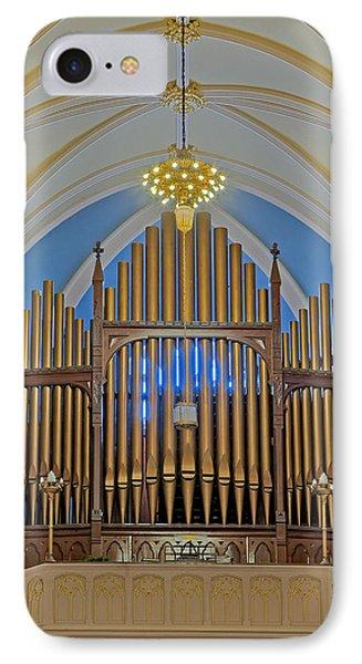 Saint Bridgets Pipe Organ Phone Case by Susan Candelario